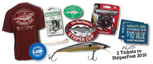 2016 Striper Sign Up Package