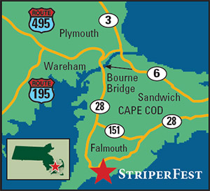 StriperFest Map