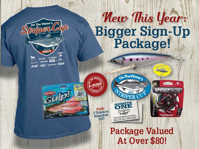 2017 Striper Sign Up Package
