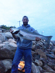 Michael Ross is the winner of The Striper Cup Catch & Release Tournament Bonus Drawing