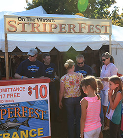 StriperFest volunteers