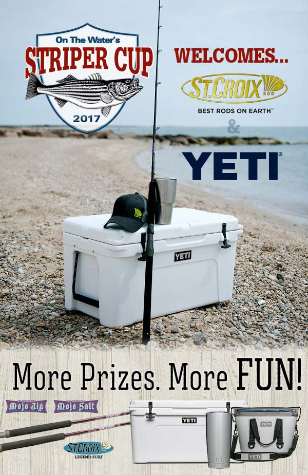 St Croin and Yeti join the Striper Cup family
