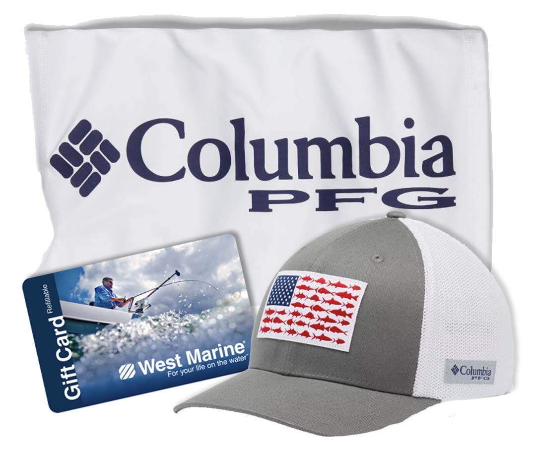 Columbia and West Marine