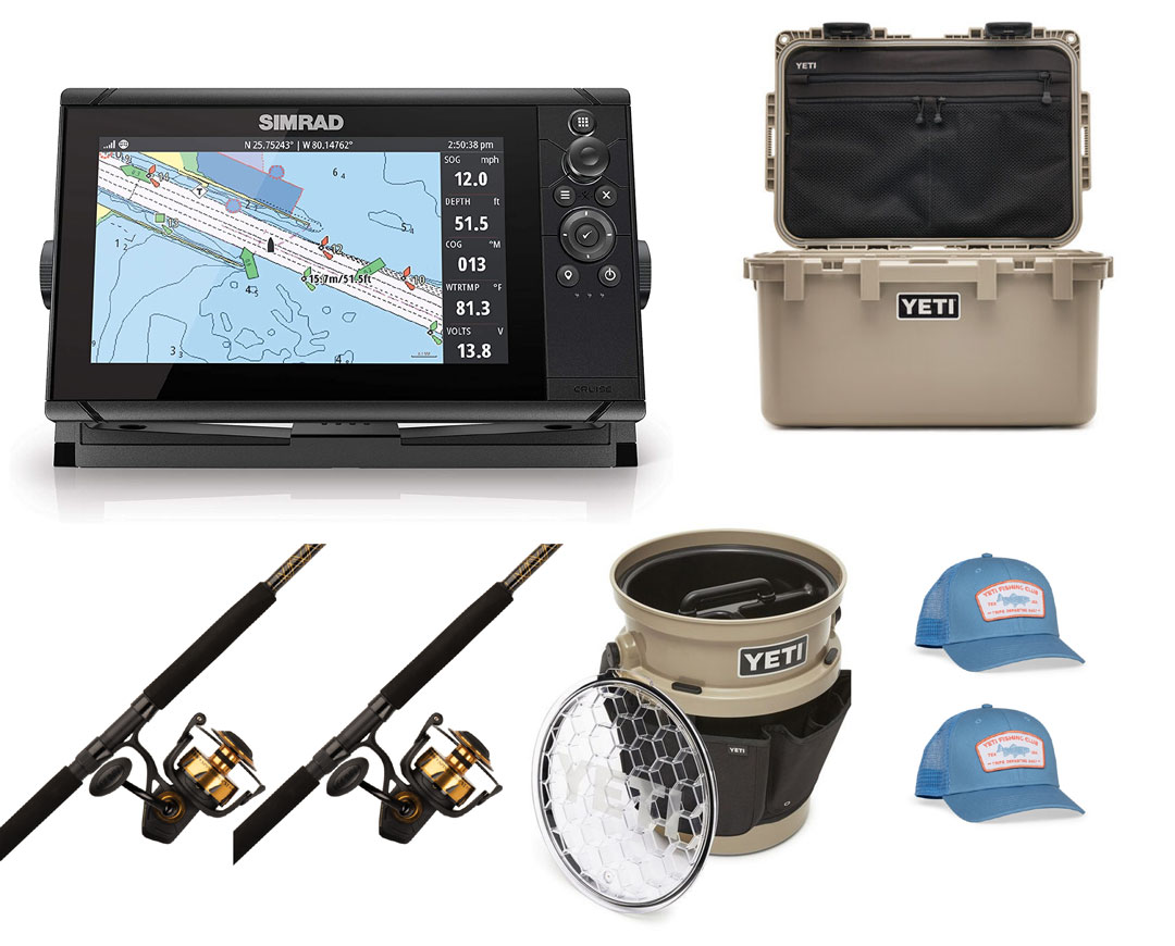 Boat Fishing Prize Pack